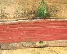 5) Verdigris stain